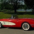1960 Corvette by Tim McCullough