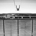 1960 Desoto Fireflite Two-door Hardtop Grille Emblem -0931bw by Jill Reger