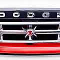 1960 Dodge Truck Grille Emblem by Jill Reger