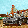 1960 Ferrari 250 California G T by Jack Pumphrey