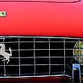 1960 Ferrari 250 Gt Cabriolet Pininfarina Series II Grille Emblem by Jill Reger