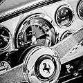 1960 Ferrari 250 Gt Cabriolet Pininfarina Series II Steering Wheel Emblem -1319bw by Jill Reger