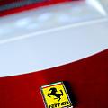 1960 Ferrari 250 Gt Swb Berlinetta Competizione Grille Emblem by Jill Reger