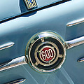 1960 Fiat 600 Jolly Emblem by Jill Reger