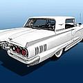 1960 Ford Thunderbird by Gill Billington