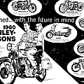 1960 Harley Davidson  by Bill Cannon