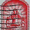 1960 Mexican Independence Stamp by Bill Owen