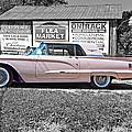 1960 Thunderbird Bw by Steve Harrington