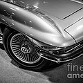 1960's Corvette C2 In Black And White by Paul Velgos