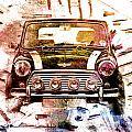 1960s Mini Cooper by David Ridley