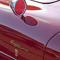 1961 Alfa Romeo Giulietta Sprint Speciale Emblem by Jill Reger