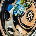 1961 Alfa Romeo Giulietta Sprint Speciale Wheel Emblem -0051c by Jill Reger
