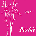 1961 Barbie Doll Patent Art 1 by Nishanth Gopinathan