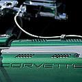 1961 Chevrolet Corvette Engine by Jill Reger