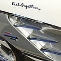 1961 Chevrolet Corvette Side Emblem 3 by Jill Reger
