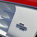 1961 Chevrolet Corvette Side Emblem by Jill Reger