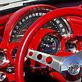 1961 Chevrolet Corvette Steering Wheel 2 by Jill Reger