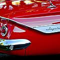 1961 Chevrolet Impala Taillight Emblem by Jill Reger