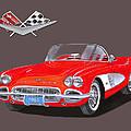 1961 Corvette Convertible by Jack Pumphrey