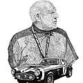 Sir Stirling Moss 1961 Ferrari G T 250 by Jack Pumphrey