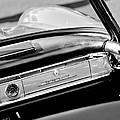 1961 Mercedes-benz 300 Sl Roadster Dashboard Emblem by Jill Reger
