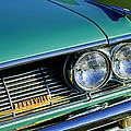 1961 Pontiac Bonneville Grille Emblem by Jill Reger
