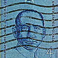1961 Sunyat-sen China Stamp by Bill Owen