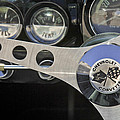 1962 Chevrolet Corvette Convertible Steering Wheel by Jill Reger