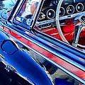 1962 Dodge Polara 500 Steering Wheel by Jill Reger