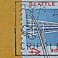 1962 Seattle World's Fair Stamp by Bill Owen