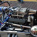 1962 V6 Lotus Engine by Robert Floyd