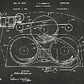 1963 Automatic Phonograph Jukebox Patent Artwork - Gray by Nikki Marie Smith