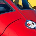 1963 Chevrolet Corvette Convertible Emblem by Jill Reger