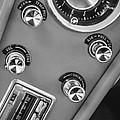 1963 Chevrolet Corvette Split Window Dash -334bw by Jill Reger