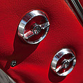 1963 Chevrolet Corvette Split Window Door Latch -292c by Jill Reger