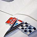 1963 Chevrolet Corvette Split Window Emblem -138c by Jill Reger