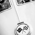 1963 Chevrolet Corvette Split Window Emblem -445bw by Jill Reger
