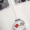 1963 Chevrolet Corvette Split Window Emblem -445c by Jill Reger