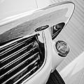 1963 Chevrolet Corvette Split Window Grille -221bw by Jill Reger