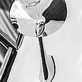1963 Chevrolet Corvette Split Window Rear View Mirror -287bw by Jill Reger