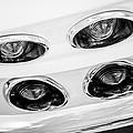 1963 Chevrolet Corvette Split Window Taillights -240bw by Jill Reger