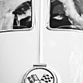 1963 Chevrolet Corvette Split Window Wheel Emblem -118bw by Jill Reger