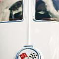 1963 Chevrolet Corvette Split Window Wheel Emblem -118c by Jill Reger