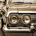 1963 Chevrolet Impala Ss In Sepia by Gordon Dean II