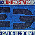 1963 Emancipation Proclamation Stamp by Bill Owen