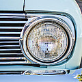 1963 Ford Falcon Futura Convertible Headlight - Hood Ornament by Jill Reger