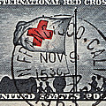 1963 Red Cross Stamp - San Francisco Postmark by Bill Owen