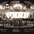 1964 Allan Herschell Carousel by Debra Forand