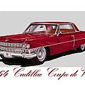 1964 Cadillac Coupe De Ville by Jack Pumphrey