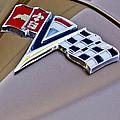 1964 Chevrolet Corvette Coupe Emblem by Jill Reger